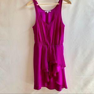 Amanda Uprichard | Royal Purple 100% Silk Dress